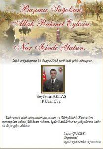 Kuzey Irak'ta Yapılan Operasyonda 3 Uzman Çavuş Şehit Oldu ! 4 – ehit4