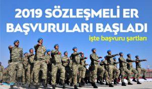 Kara Kuvvetleri 2019 Sözleşmeli Er Alımları Başladı !