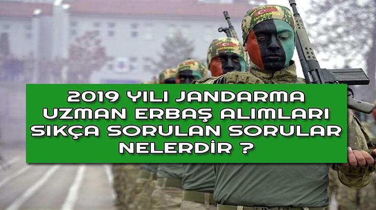 Jandarma Uzman Erbaş Alımında Sıkça Sorulan Sorular !