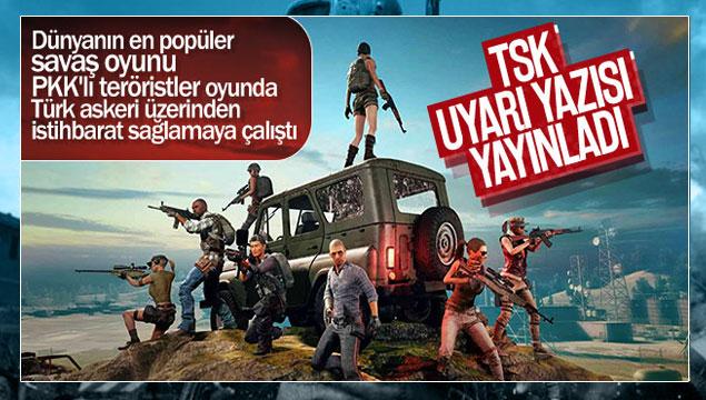 Türk Silahlı Kuvvetleri'nden Kritik Pubg Oyunu Uyarısı !