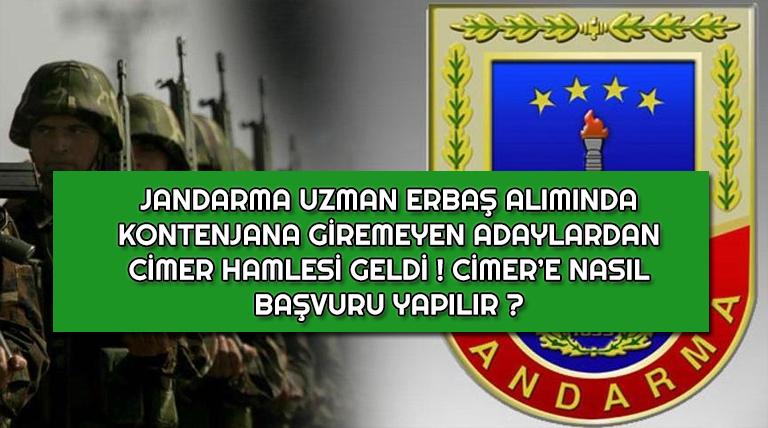 Jandarma 2019-1 Uzman Erbaş Kontenjanına Giremeyenlerden Yoğun Tepki Geliyor !