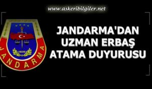 Jandarma Seferihisar ve Kastamonu Uzman Erbaş Atama Duyurusu Yayınlandı !