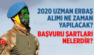 2020 Yılı Uzman Çavuş ve Uzman Onbaşı Alımları