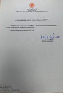 Uzman Çavuşlara Kadro Verilmesi İçin MHP Milletvekili İzzet Ulvi Yönter Tarafından Kanun Teklifi Verildi ! 3 – 11111