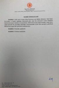 Uzman Çavuşlara Kadro Verilmesi İçin MHP Milletvekili İzzet Ulvi Yönter Tarafından Kanun Teklifi Verildi ! 1 – 3333