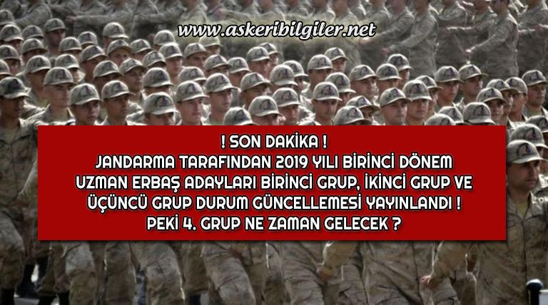 Jandarma Uzman Erbaş Alımı Güncelleme Duyuruları Yayınlandı !