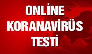 Online Koronavirüs Testi Yaptınız Mı ? Sağlık Bakanlığı Online Koronavirüs Testi !