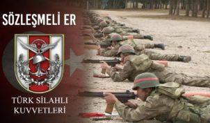 Kara Kuvvetleri Komutanlığı 2020  Sözleşmeli Er Temini Duyurusu !