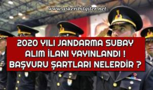 Jandarma Subay Alım İlanı Yayınlandı ! Başvuru Şartları Nelerdir ?