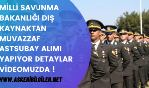 Türk Silahlı Kuvvetleri Muvazzaf Astsubay Alımı Başvuru Ekranı ve Başvuru Şartları !