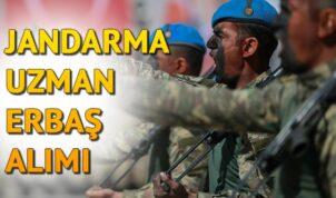 Jandarma 5 Bin Uzman Erbaş Alımı Yapıyor ! Başvuru Şartları, Başvuru Branşları ve Diğer Bilgiler Haberimizde !